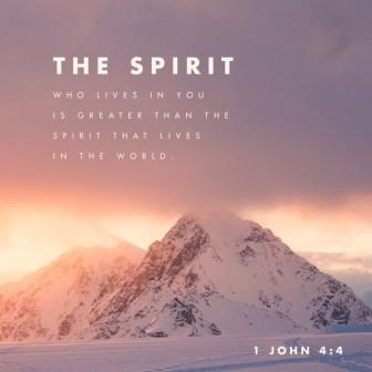 The Spirit in me