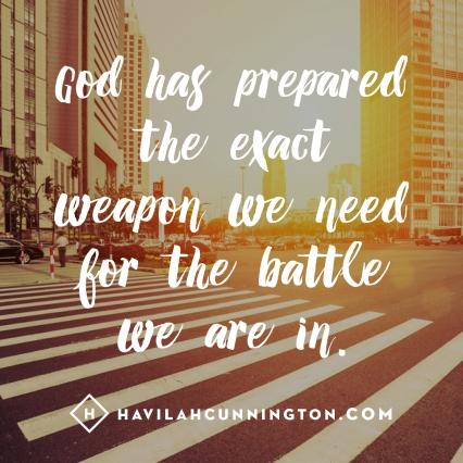 God has prepared EXACT