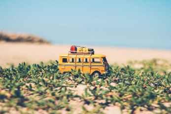 agriculture beach blur car
