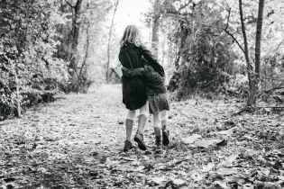 black and white childhood children cute