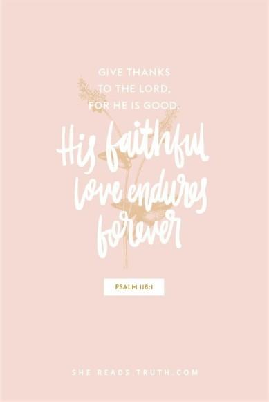 His love endures (2)