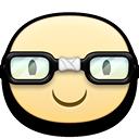 happy nerd