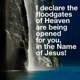flood gates of heaven