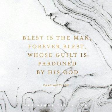 guilt pardoned