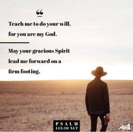 Psalm 143.10