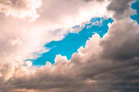 cloudy sies